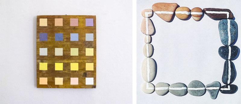 Alberonero - Panzano, 20 tones, 2015 and Mezzavalle,18 tones of stones, 2015