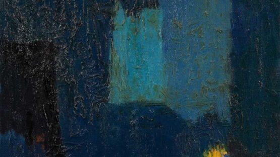 Albert Kotin - Untitled, circa 1960 (detail)
