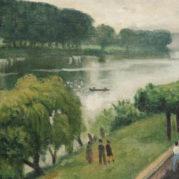 Albert Marquet - Route Du Bord De La Seine A La Frette, 1940 (Detail)