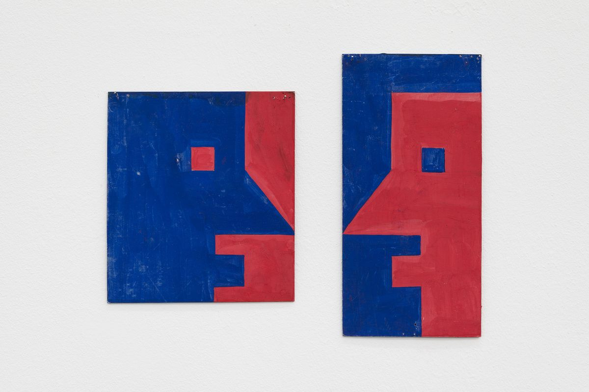 Albert Mertz - Untitled, 1980s. Courtesy Croy Nielsen, Vienna. Photo Joachim Schulz