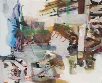 Albert Oehlen-Ohne Titel-2004