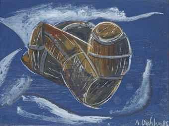 Albert Oehlen-Untitled-1986