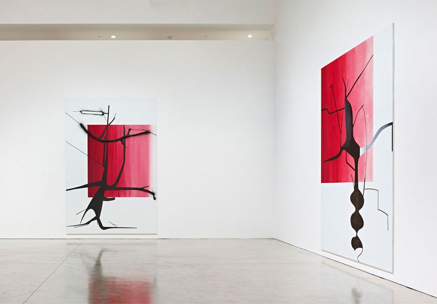 albert germany canvas museum Albert Oehlen exhibition