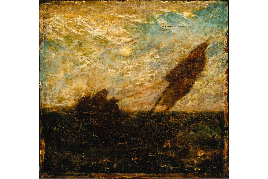 Albert Pinkham Ryder - The Waste of Waters Is Their Field