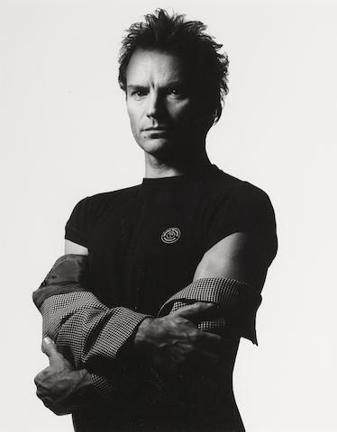 Albert Watson-Sting, New York City, March 16th-1992