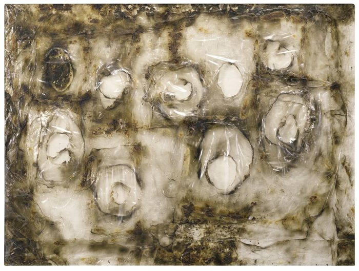Alberto Burri-Bianco Plastica 1-