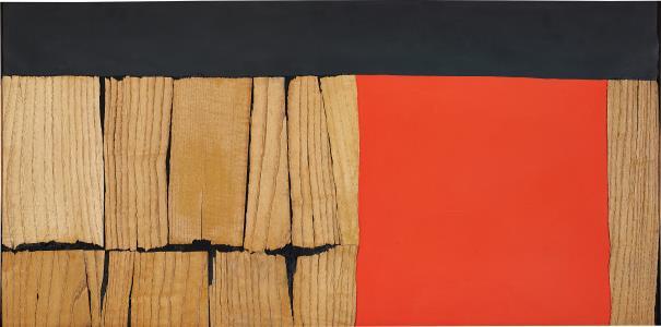Alberto Burri-Legno-1959