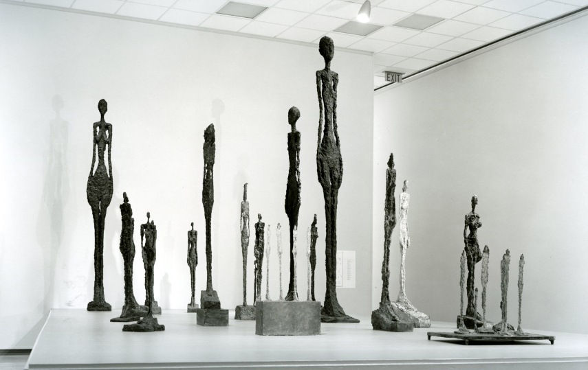 Alberto Giacometti - A Collection of His PIeces - Image via pinterestcom