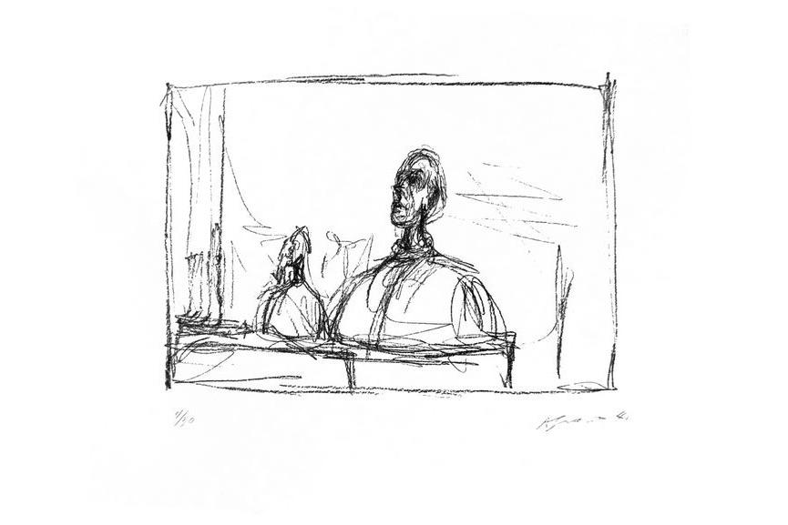 Alberto Giacometti - Buste, 1995