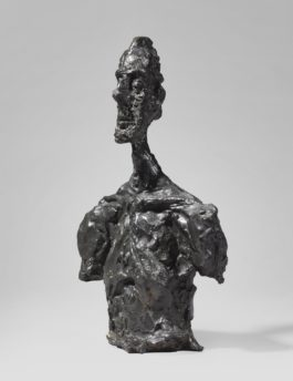Alberto Giacometti-Buste De Diego-1956