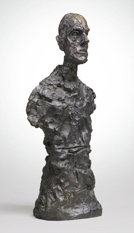 Alberto Giacometti-Buste De Diego, Premiere Version-1962
