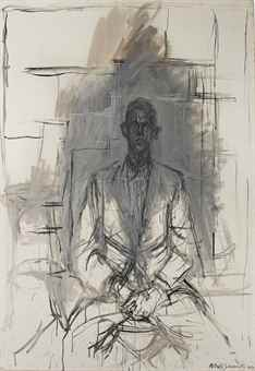 Alberto Giacometti-James Lord-1964