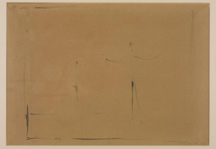 Alberto Giacometti - Two Figures, 1947 - Image via tateorguk