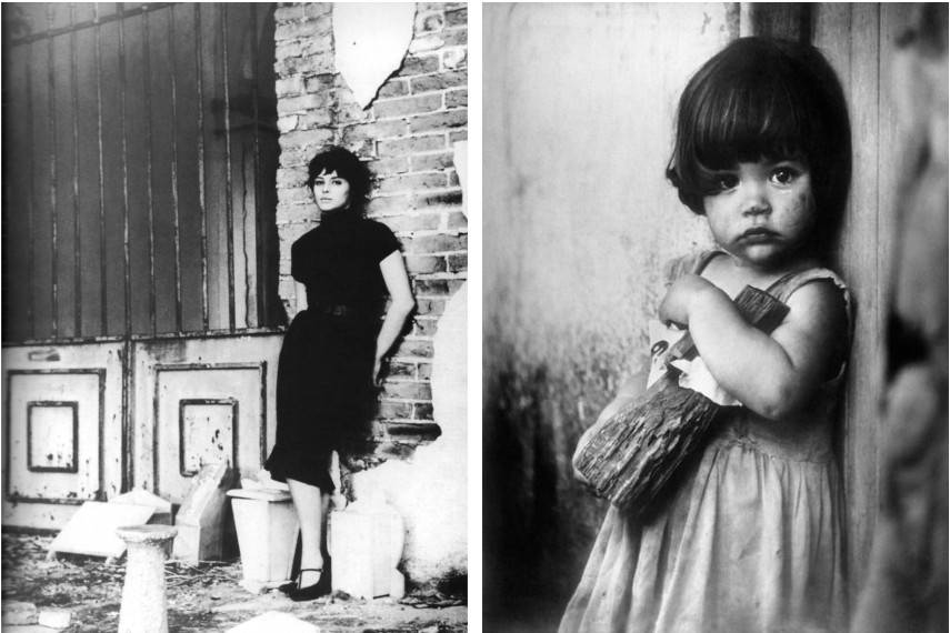 korda's photo Girl With a Wooden Doll from 1959 is one of his dearest works