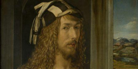 Albrecht Dürer - Self-Portrait, 1498 (Detail) - Museo Nacional del Prado, Madrid