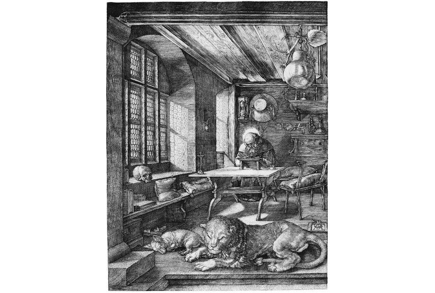 Albrecht Dürer - St Jerome, 1514 - Image via wikimediaorg