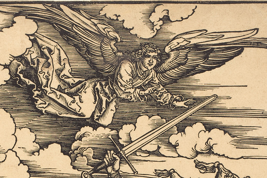 Albrecht Durer - The Four Horsemen, from The Apocalypse, detail, 1498