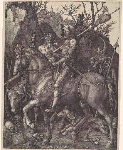 Albrecht-Durer-Knight-Death-and-the-Devil-photo-via-metmuseumorg