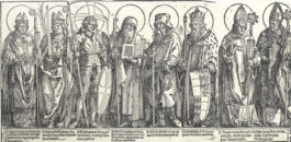Albrecht Durer-Patron Saints of Austria-1515