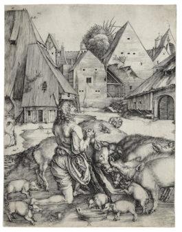 Albrecht Durer-The Prodigal Son-1496
