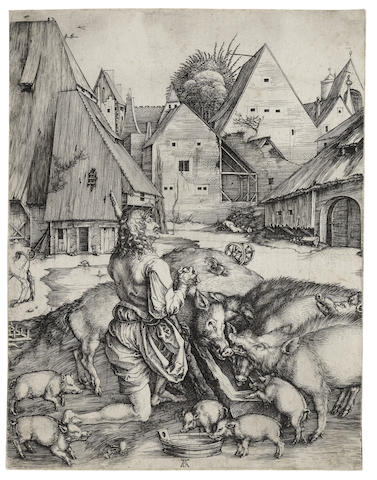 Albrecht Durer-The Prodigal Son-1496