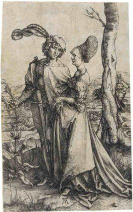 Albrecht Durer-The Promenade-1498