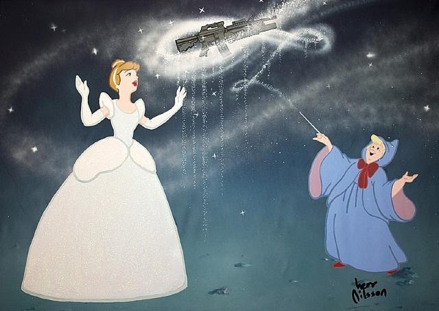 Alec Monopoly-Bibbidi Bobbidi Boo (Cinderella, from Dark Princesses)-2014