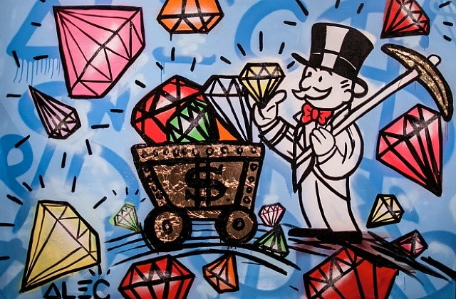 Alec Monopoly-Diamonds and Gold-2014