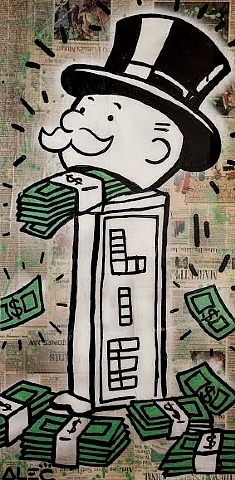 Alec Monopoly-Lies Monopoly (from Man Overboard)-2013