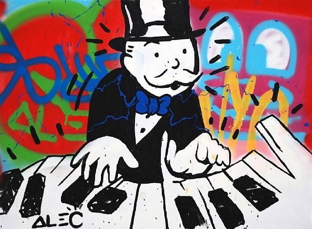 Alec Monopoly-Piano Graffiti-2012