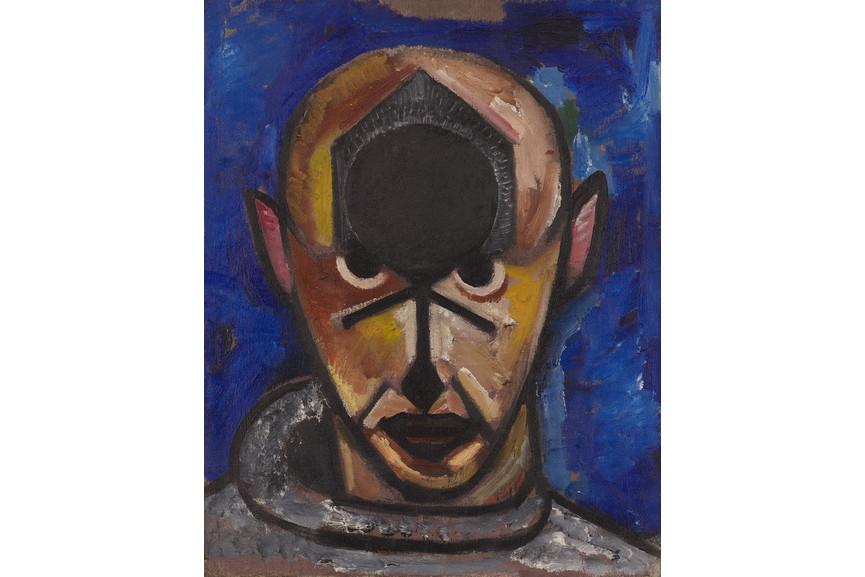 Aleksander Mikhailovich Rodchenko - Self Portrait