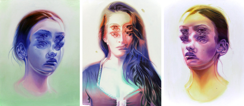 Alex Garant - Daydreaming I - Lost In Translation - Daydreaming II, new work, women shop in posts in 2016