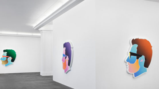 Alex Israel - Self-Portraits (Installation View)
