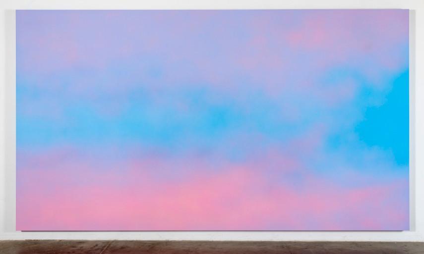 Alex Israel - Sky Backdrop Work