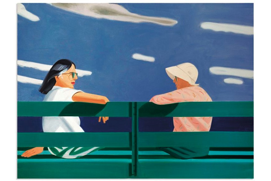 Alex Katz - Ada And Louise, 1987