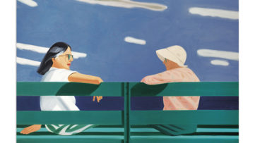 Alex Katz - Ada and Louise