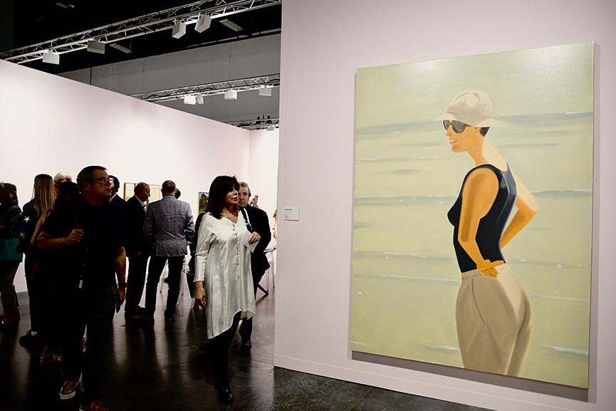 Alex Katz Art Basel Miami 2019