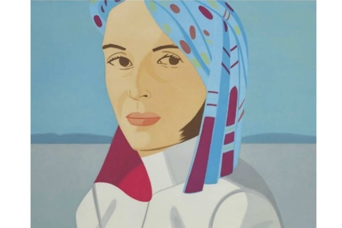 Alex Katz - Blue Hat