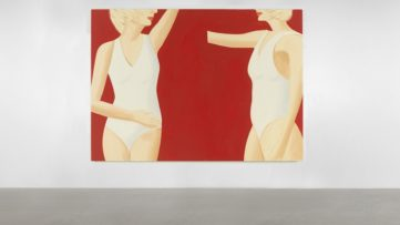 Alex Katz - Coca-Cola Girl 19