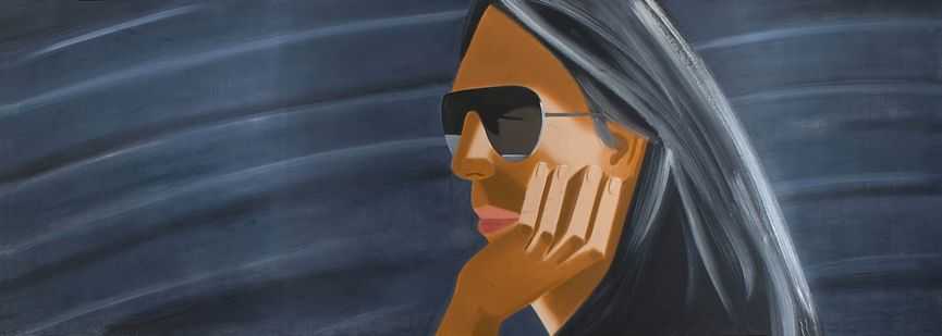 Alex Katz, Dark Glasses, 1989