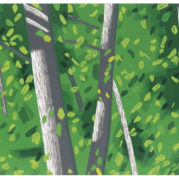 Alex Katz - Forest, 2009 (Detail)