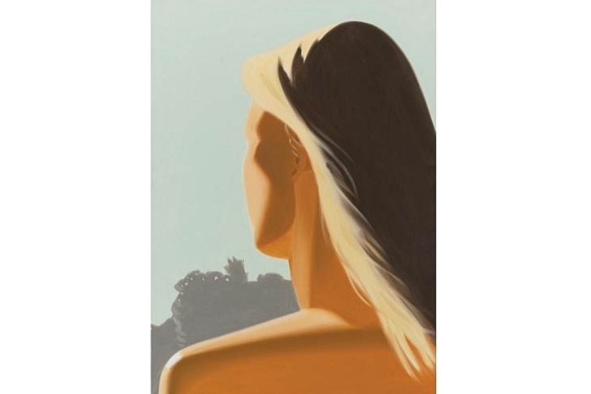 Alex Katz - Girl (Back) [courtesy of inavaluable]