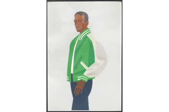 Alex Katz - Green Jacket