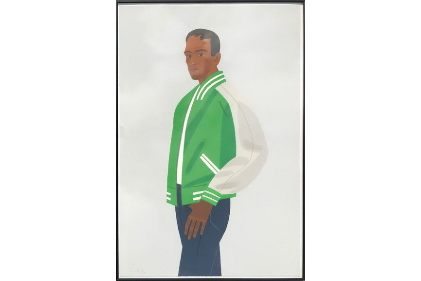 Alex Katz - Green Jacket