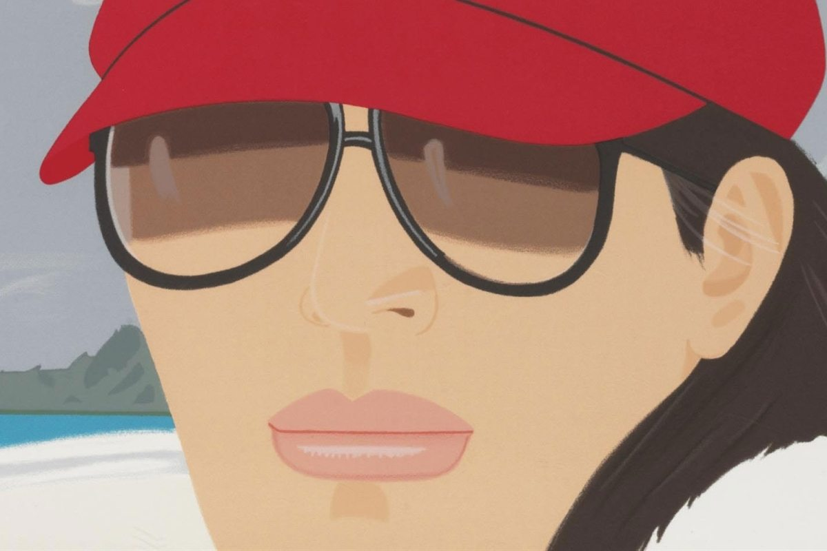 Alex Katz - Grey Day, detail