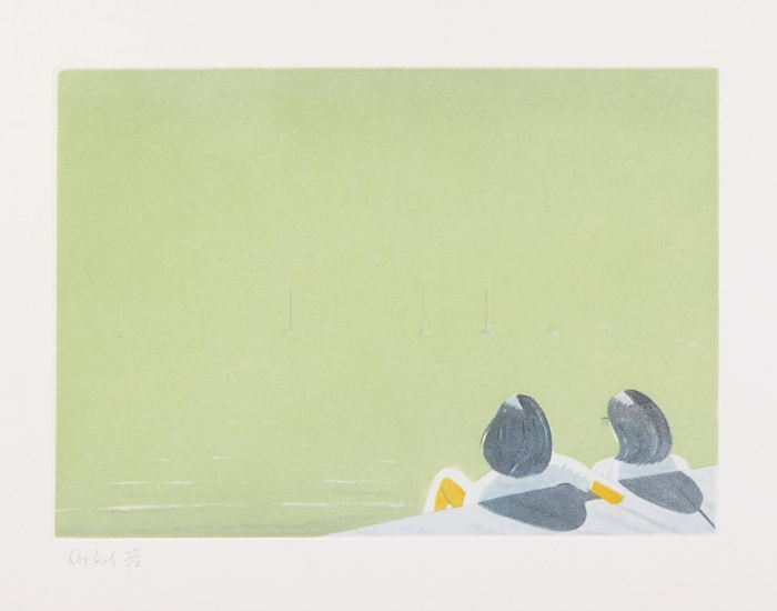 Alex Katz-Harbor-2006