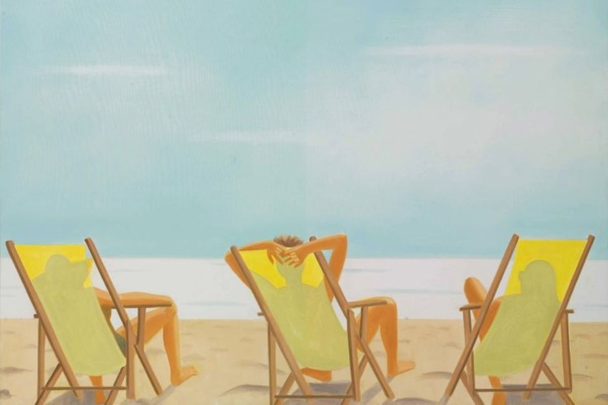 Alex Katz paintings