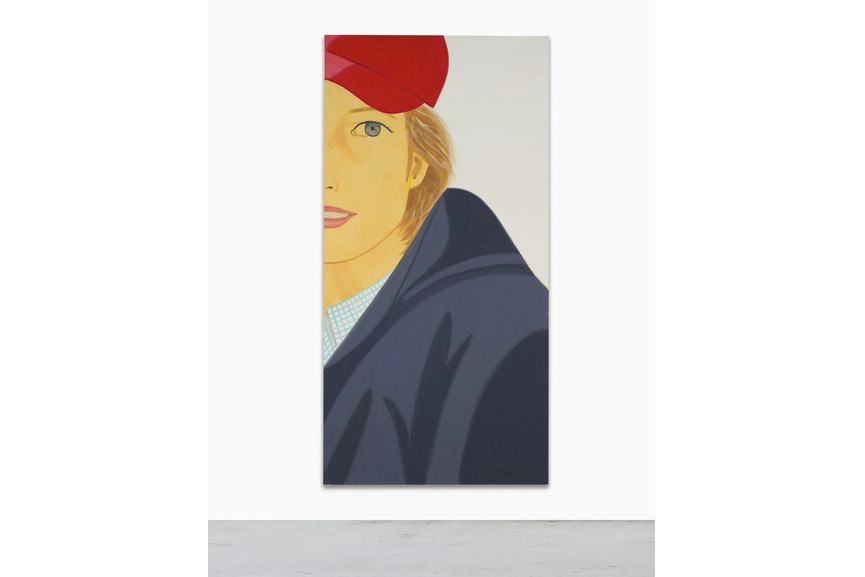 Alex Katz - Red Cap, 2003