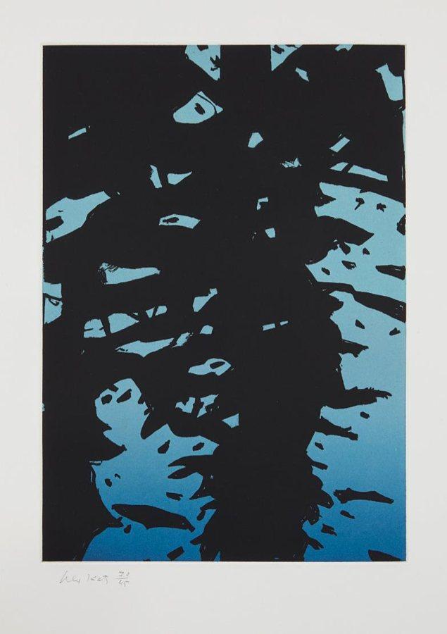 Alex Katz-Reflection 1-2010