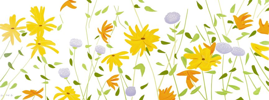 Alex Katz - Summer Flowers